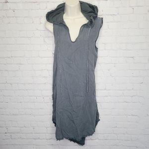 Cloth & Stone Hooded Dress
